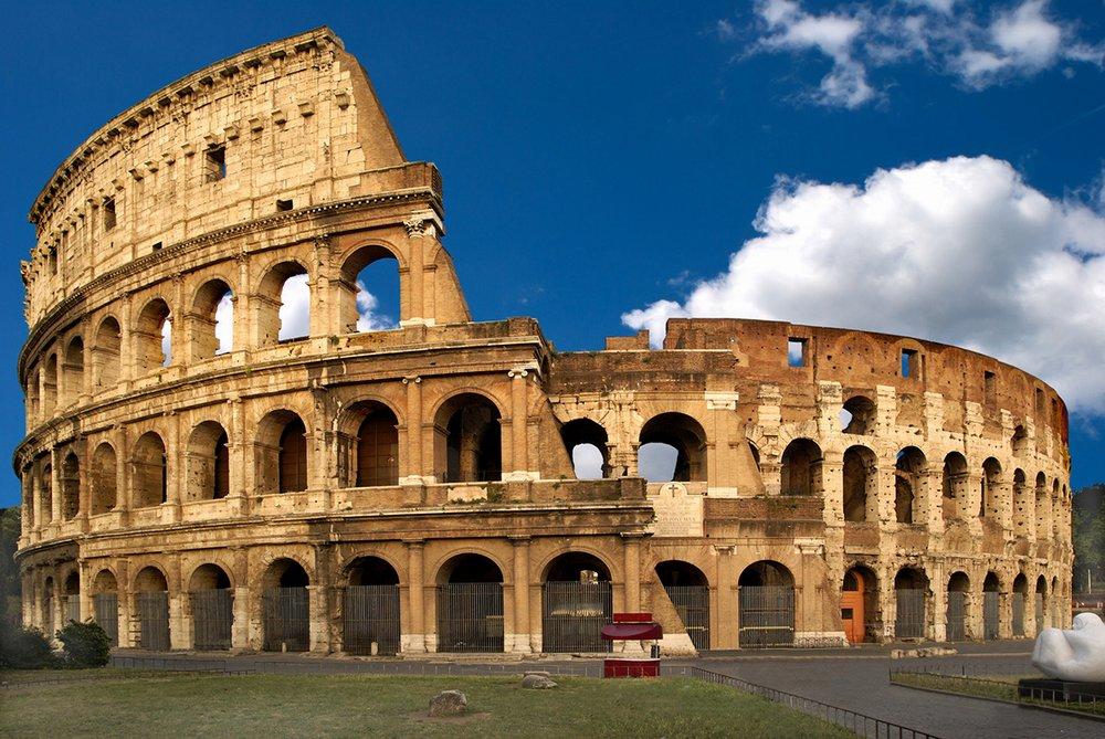 Колизей памятник архитектуры древнего Рима