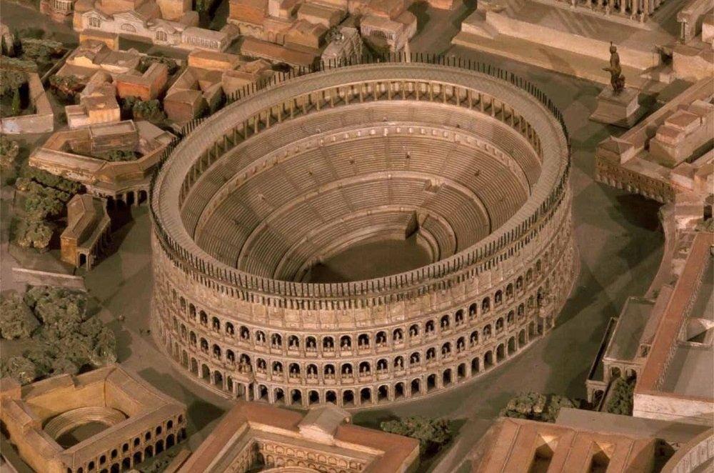 Макет древнего Рима