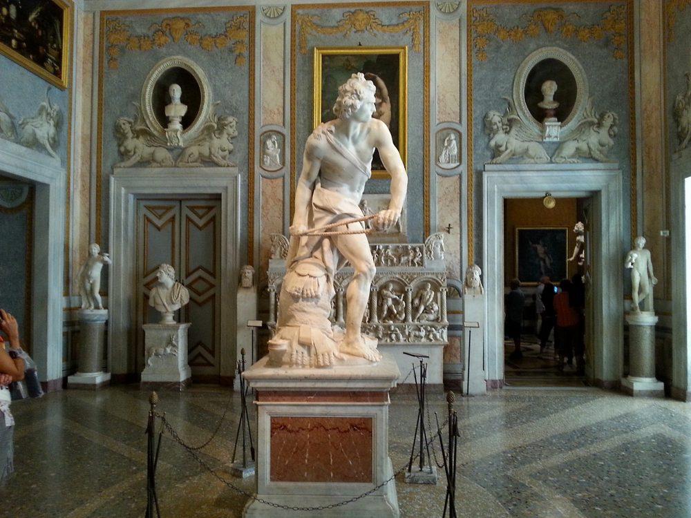 Скульптура галереи Боргезе
