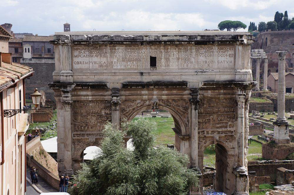 Римский Форум- Арка