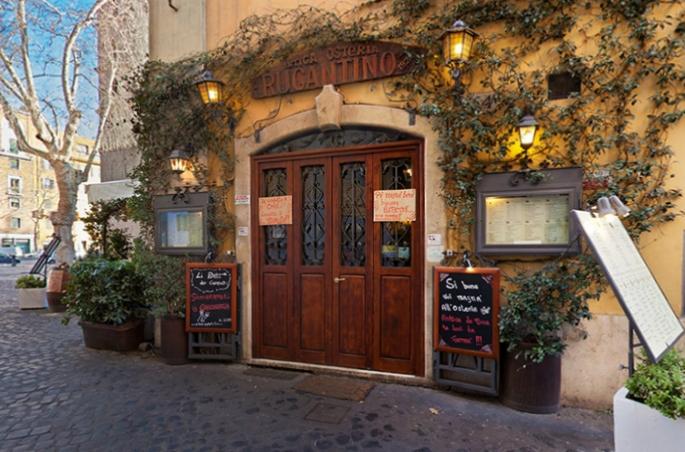Поесть в ресторане Rugantino