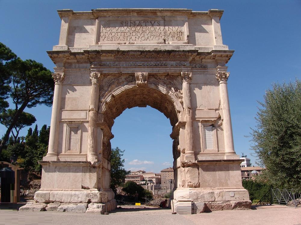 arch of titus Start studying arch of titus learn vocabulary, terms, and more with flashcards, games, and other study tools.