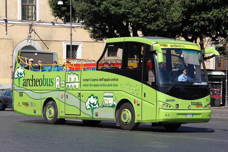 Автобус Trambus open