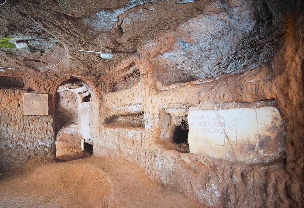 Катакомбы святой Домитиллы