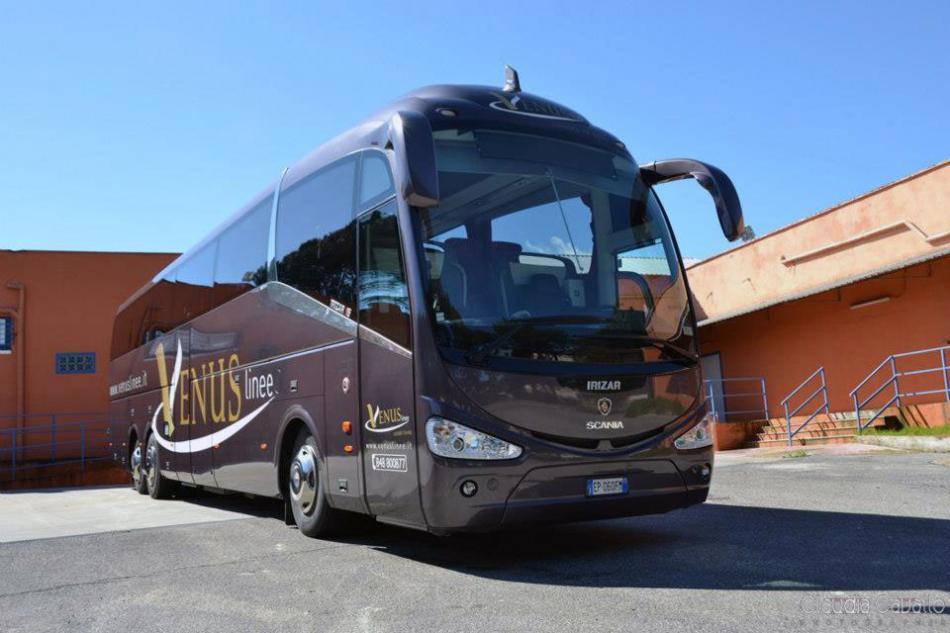 Автобус из Рима до Неаполя