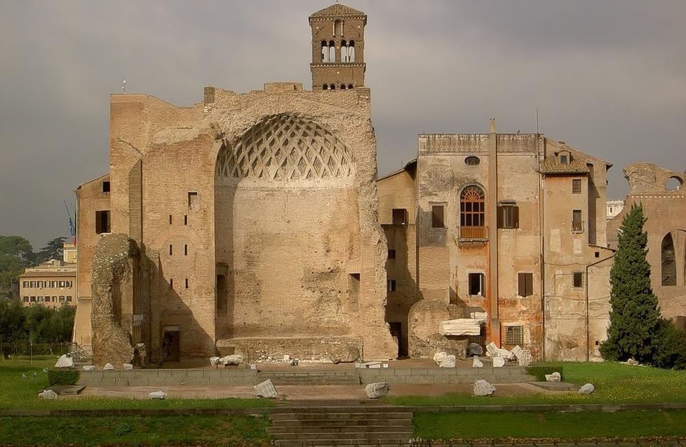 Золотой дом Нерона в наши дни
