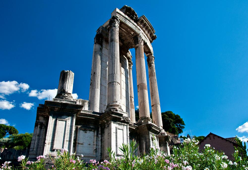 Остатки храма Весты