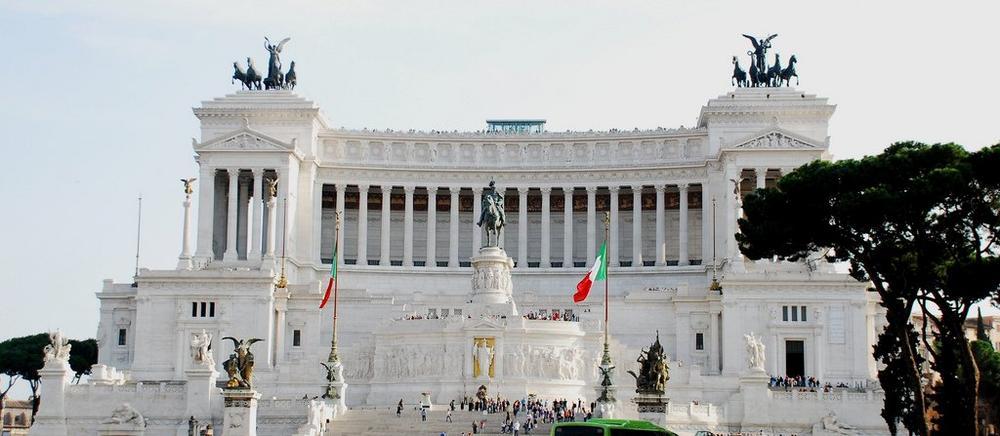 Дворец и памятник Витториано