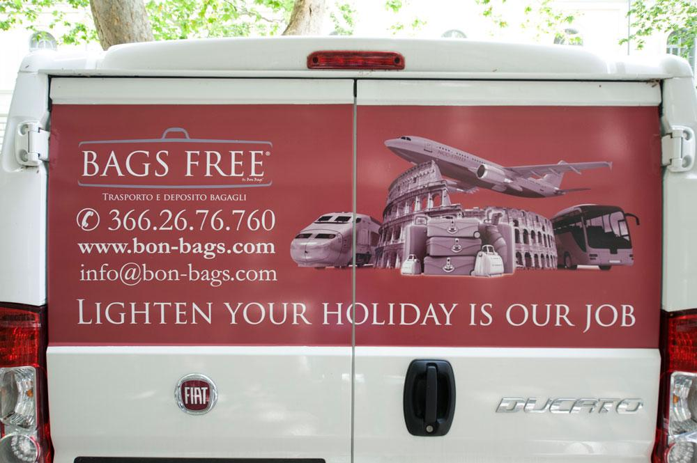 Реклама камер Bags Free