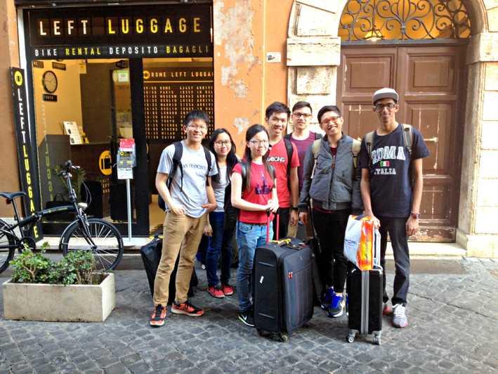 Rome LEFT LUGGAGE