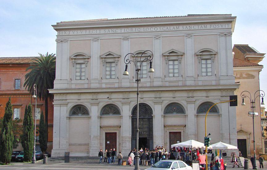 Церковь понтификов, посвященная Сан Лоренцо