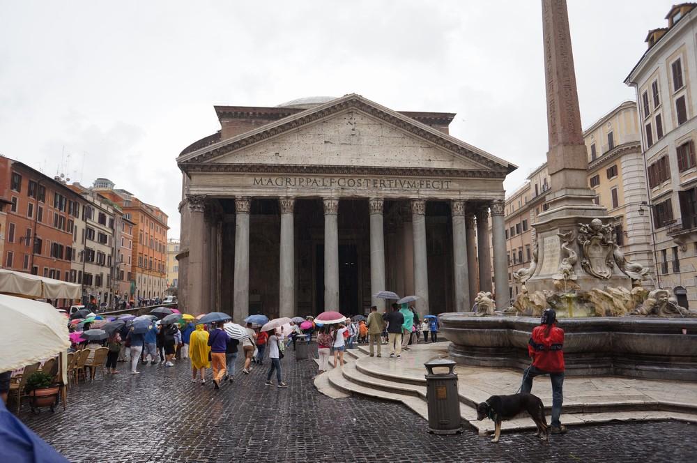 Пантеон храм всех богов в Риме