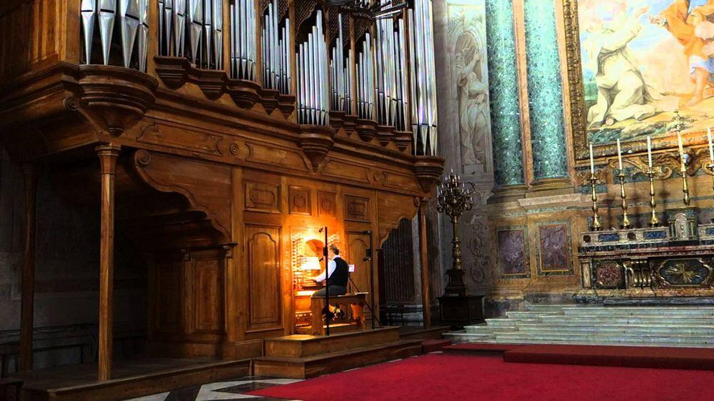 Орган в Санта-Мария-Маджоре