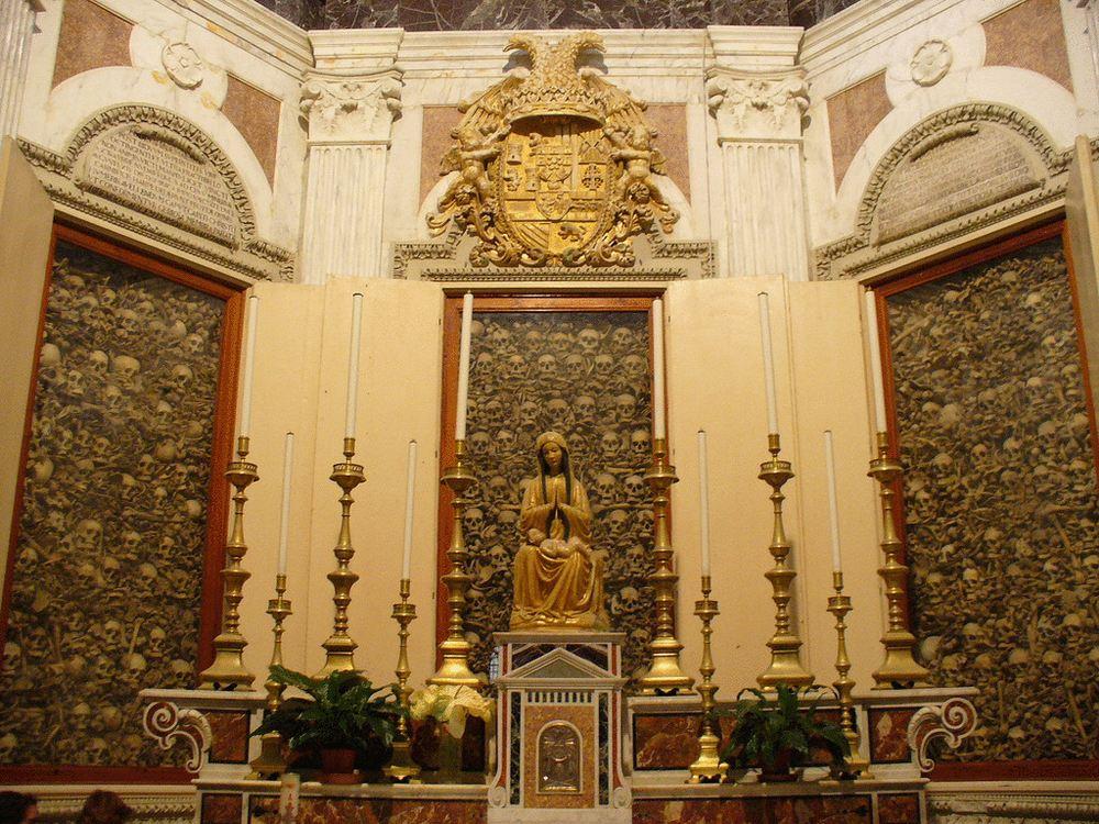 Церковь капуцинов - оформление