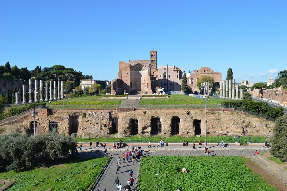 Палатинский холм в Риме