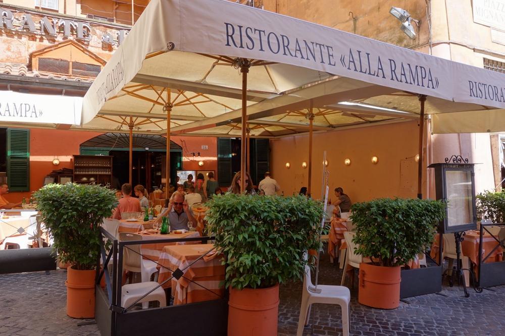 Ресторан Alla Rampa
