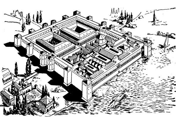 Реконструкция Терм Диоклетиана