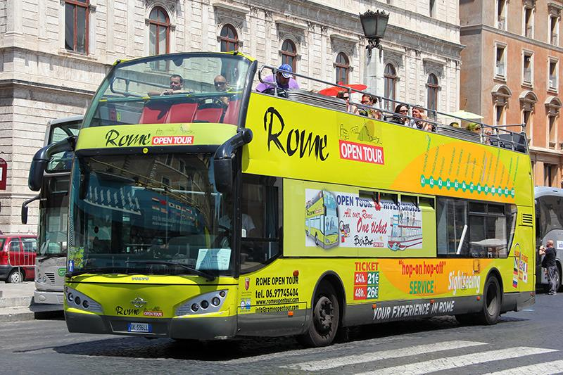 Автобус Roma Open Tour