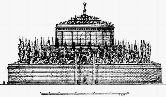 Мавзолей Августа был крепостью