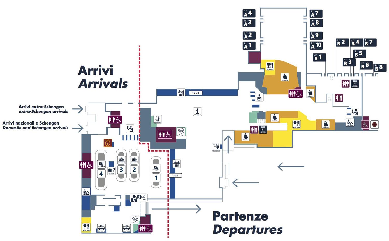 Аэропорт Чампино. Терминал