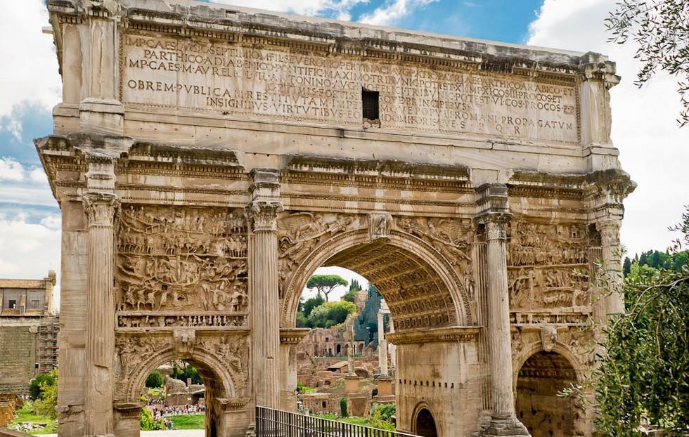 Декор арки Септимия Севера