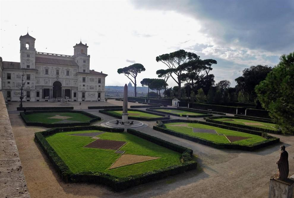 Вилла Медичи в Риме