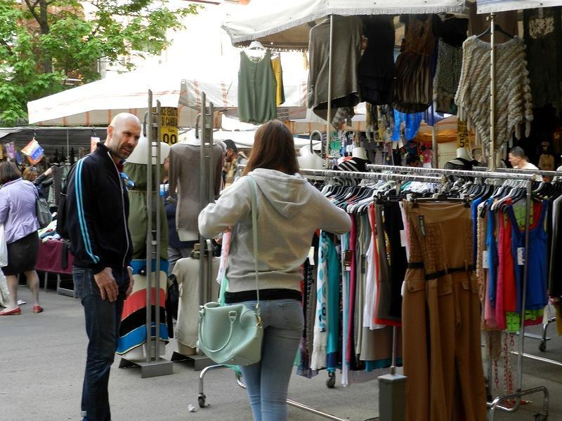 Покупки на рынке Порта Портезе