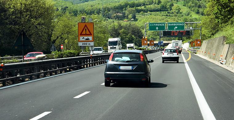 Из Рима во Флоренцию на автомобиле