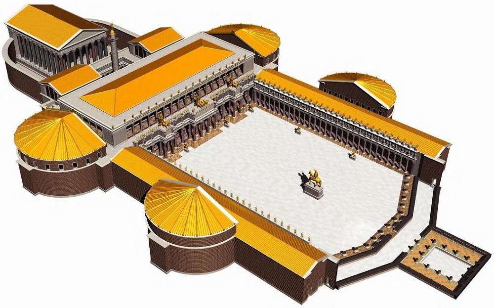 Реконструкция форума Траяна