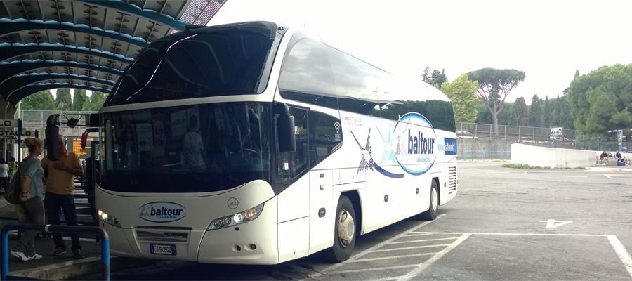 Автобус из Рима в Венецию