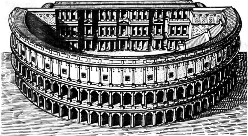 Так выглядел театр Марцелла в древние времена