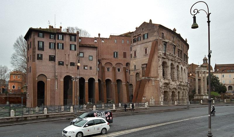 Teatro di Marcello в наши дни