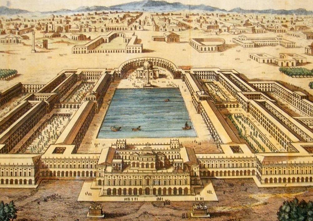 Золотой дом Нерона в Риме