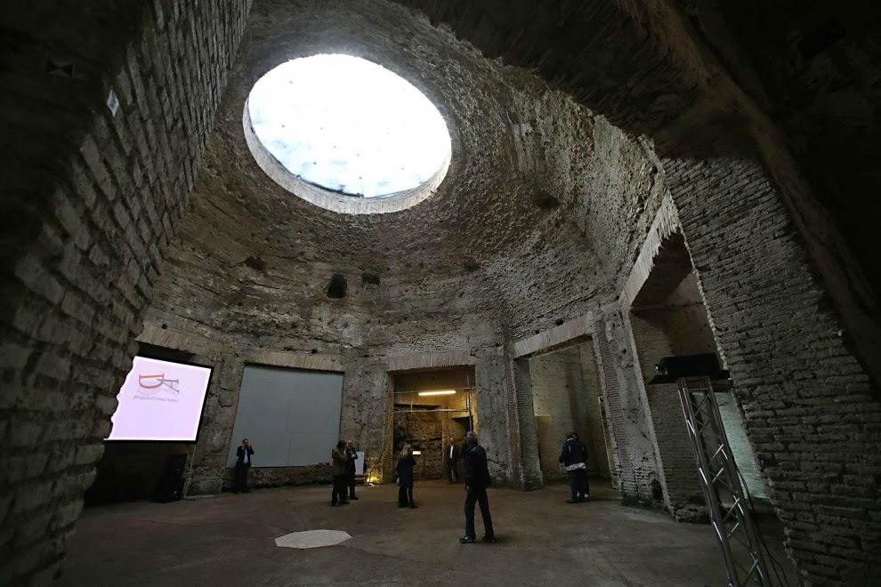 Октогональный зал и купол