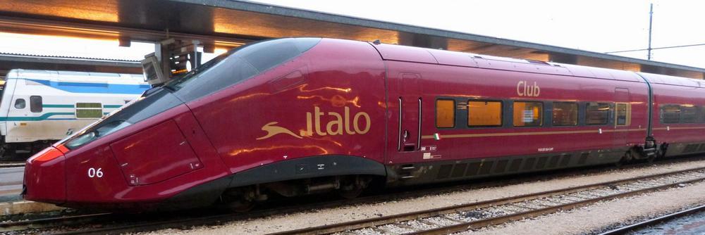 Поезд компании Italo