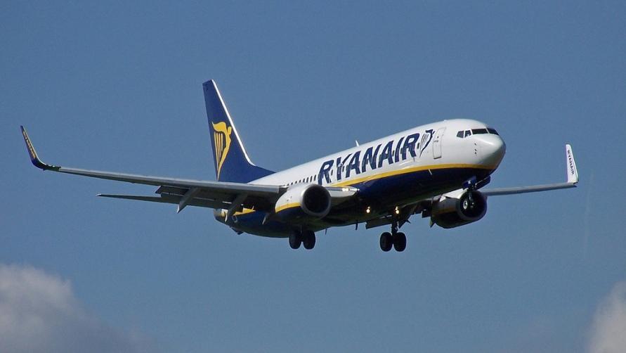 Самолёт авиакомпании RyanAir
