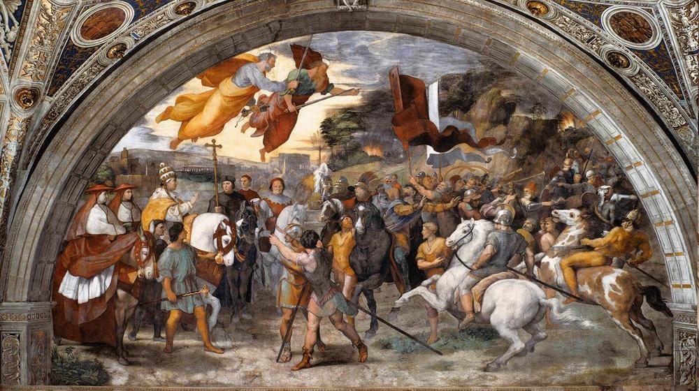 Встреча Святого Льва I Великого с Аттилой