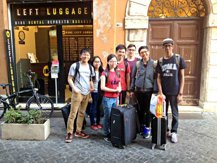Rome LEFT LUGGAGE