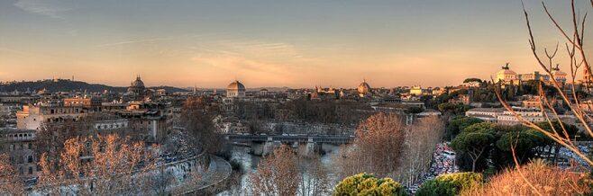 Авентинский холм в Риме