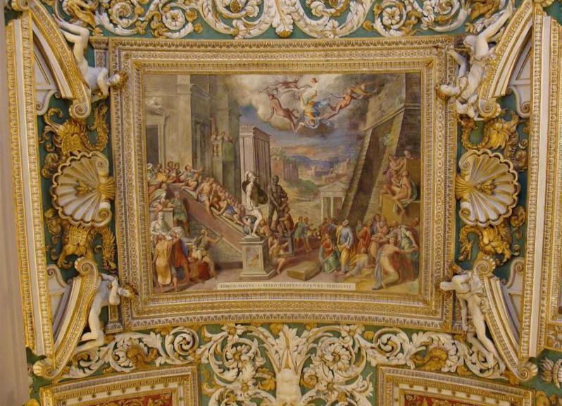 Фреска со сценой из Ветхого Завета