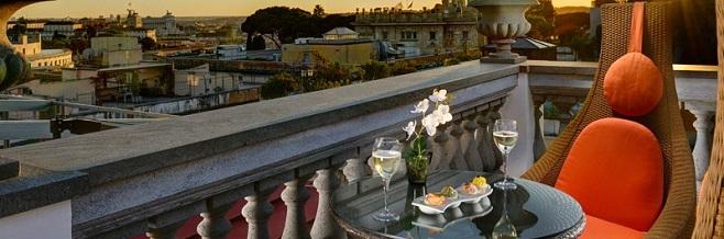 Рестораны Рима с панорамным видом
