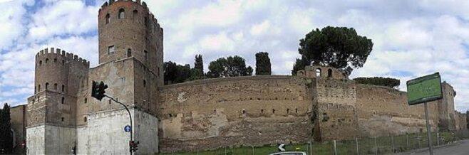 Стена Аврелиана в Риме