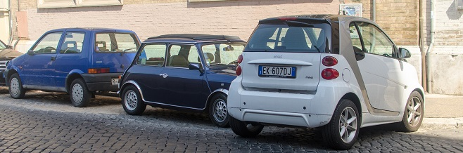 Парковки в Риме