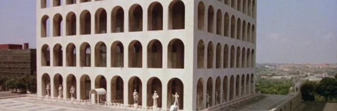 Квадратный колизей в Риме