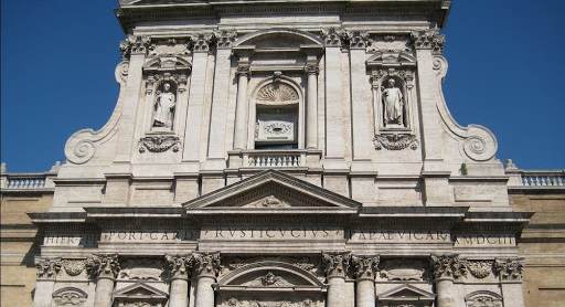 Верхний ярус церкви