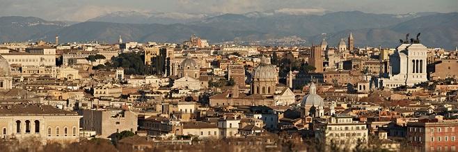 Холм Яникул в Риме