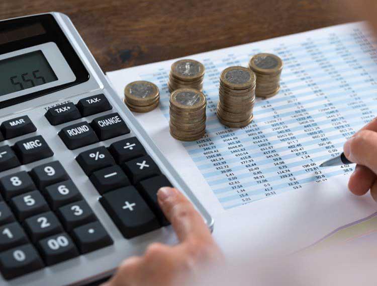 Расчет налога на кассе отеля