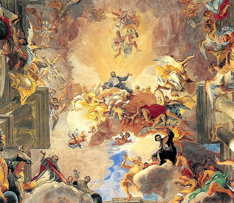 Фреска о единстве с Божественным