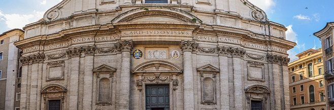 Церковь Сант-Иньяцио в Риме
